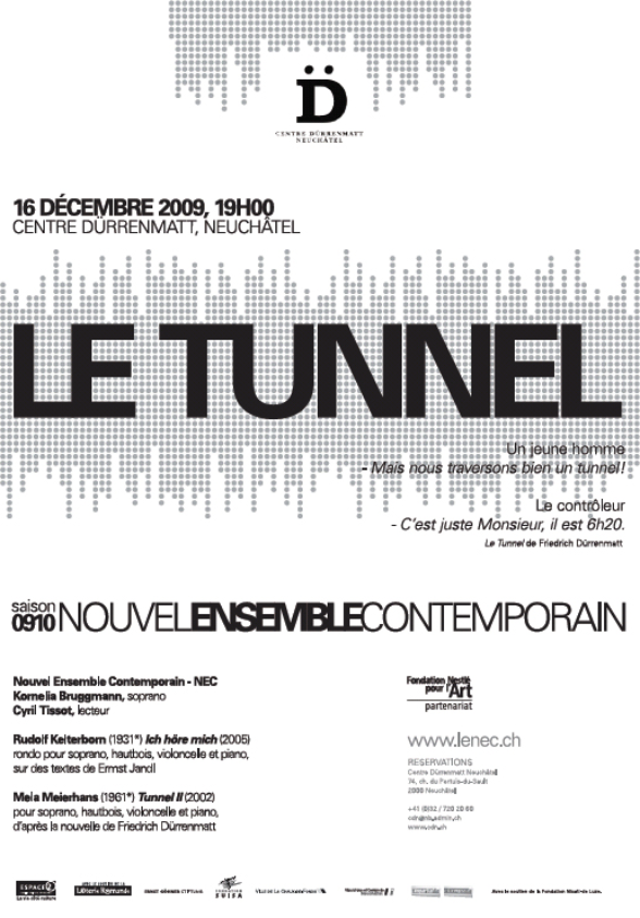 Flyer NEC - LE TUNNEL